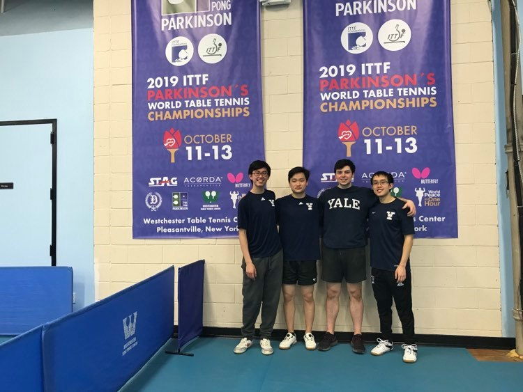 Yale Table Tennis 19-20