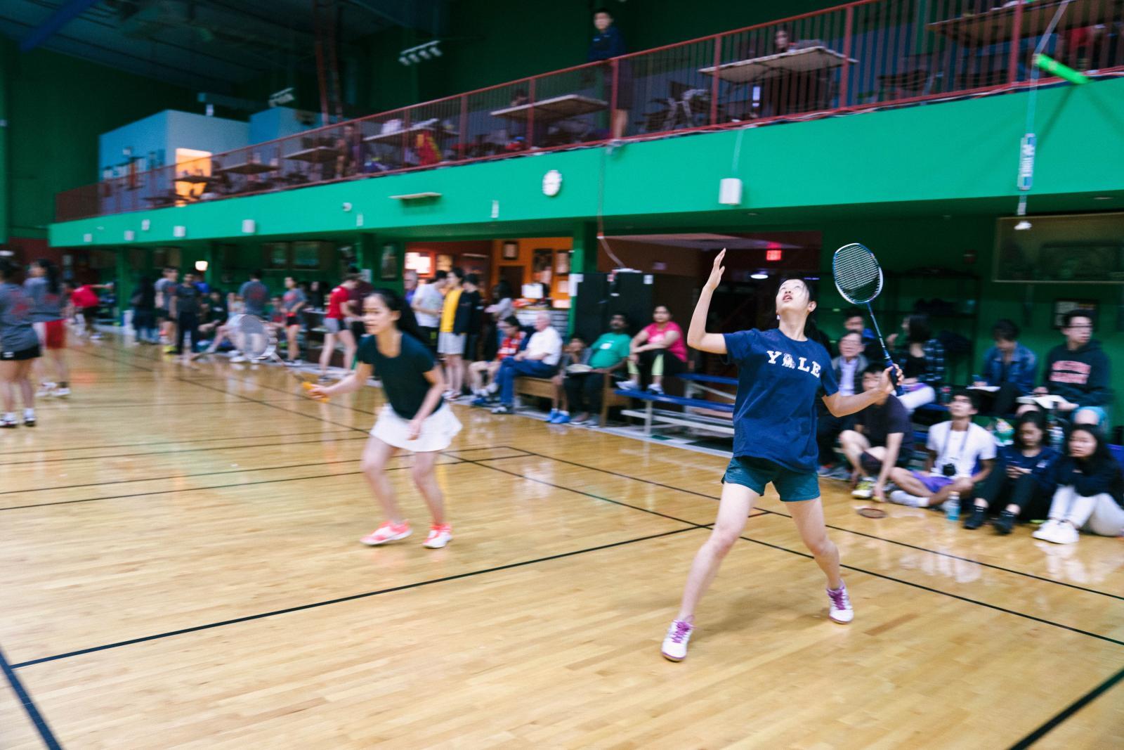 Yale Badminton Club 2018