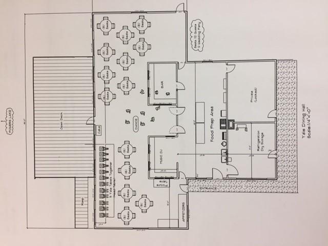 Dining Hall floor plan